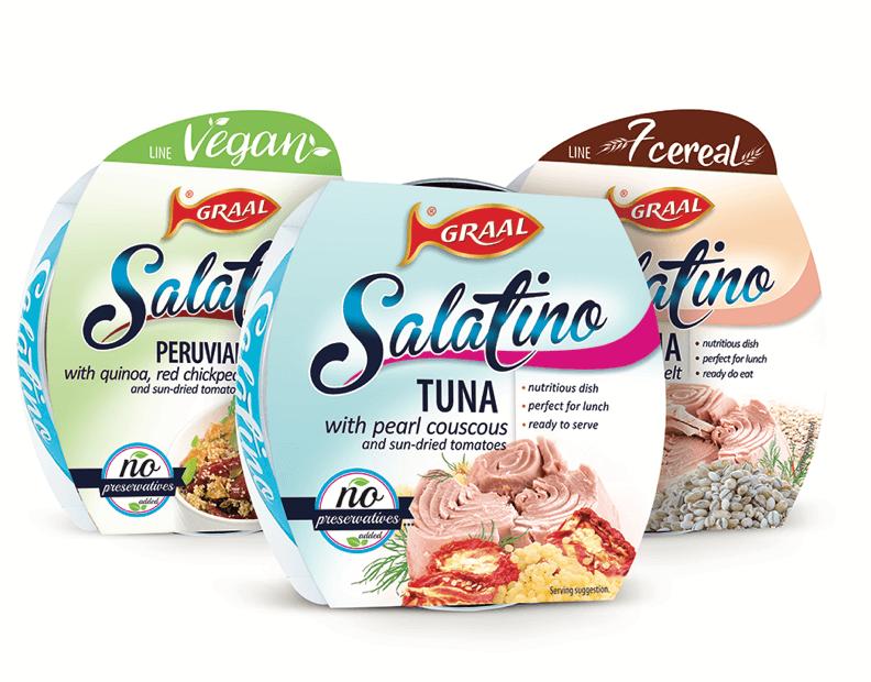 Nowa linia produktów Salatino