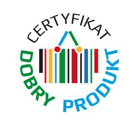 Certyfikat DOBRY PRODUKT 2017 dla Salatino 7 zbóż