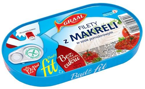 FIT Filety z makreli w sosie pomidorowym z kolejną nagrodą